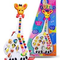 Mainan Anak Gitar Jerapah / Gitar Animal - Mainan Edukasi