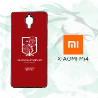 Casing Custom Hardcase Xiaomi Mi4 Stationary Guard O0037 Case Cover