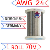 Wire/Kawat Ni80/Nichrome/Germany/vape/coil/not ss/not kanthal A1