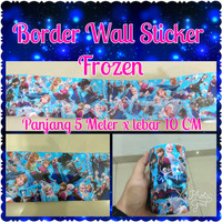 Border wall sticker frozen