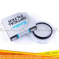 Filter UV Lensa Kamera 49mm Merk Kenko Utk Canon 15-45mm 50mm F1.8 STM