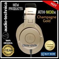 Audio Technica ATH M30x LIMITED EDITION - Champagne Gold