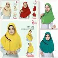 Lamia Hijab LM 041 Jilbab Instan Serut Hijab Instan Bergo Kerudung