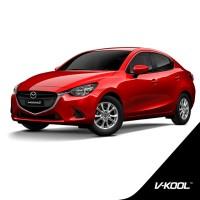 Kaca Film V-KOOL Full Body Mazda 2 (VK40+VIP+VIP)