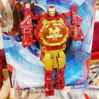 Jam Tangan Anak Robot Iron Man Captain Amerika Kado Ultah Hadiah