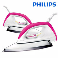 Setrika Philips HR 1173 /Gosokan Philips 1173 original Pink