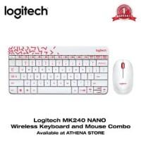 LOGITECH MK240 NANO Wireless Keyboard and Mouse Combo Orig CK1163