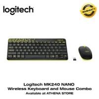 LOGITECH MK240 NANO Wireless Keyboard and Mouse Combo Orig CK1162