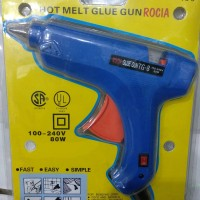 Pistol Lem Tembak/Glue Gun Rocia 80w+saklar on off