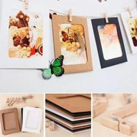 Frame foto gantung / Bingkai foto gantung / wooden clip foto frame 3R