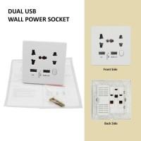 2 USB Wall Power Socket (need to install)