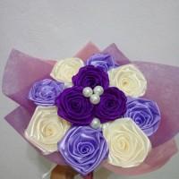 buket bunga mawar handmade murah