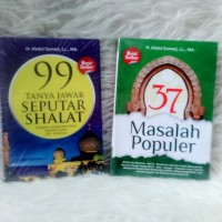 PAKET BUKU | 37 MASALAH POPULER & 99 TANYA JAWAB SEPUTAR SHALAT