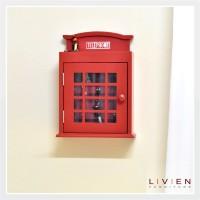 Rak Gantungan Kunci - Rak Dinding British - LIVIEN Furniture