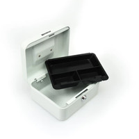 Krisbow Cash Box 8 Inch - Putih