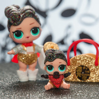 LOL L.O.L Surprise Doll THE QUEEN + LIL THE QUEEN