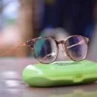 kacamata wanita dior (frame+lensa) 212615 minus korea