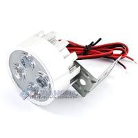 Lampu Tembak Sorot LED Spion Motor Lemari Etalase 4 Mata 12V 2W Murah
