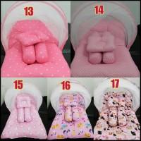 set kasur bayi lipat kelambu karakter winnie the pooh/ herdiyon