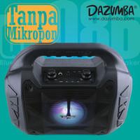 Speaker Karaoke Bluetooth n Radio Dazumba DW086 Black Tanpa Mic