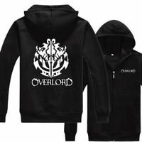 Hoodie zipper logo overlord