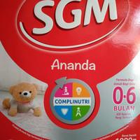 Sgm Ananda 0-6 Bulan 1000gr