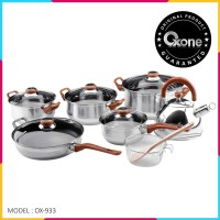 OX-933 Panci Oxone Eco Cookware Set 12+ 2Pcs