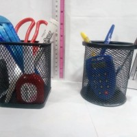 Pen Stand Holder / Desk Set tempat alat tulis di meja kantor & sekolah