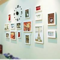 Jam Dinding DIY 30 - 50cm / Wall Clock /Dekorasi Modern