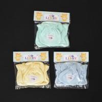 LIBBY 1 Set Sarung Tangan & Kaos Kaki Karet Bayi/Baby Warna (0-3M)