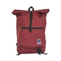 Tas Ransel Gulung Lightpack Maroon Merk Lienzo Original Murah Limited