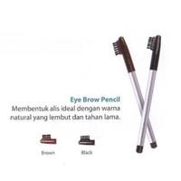 Wardah pensil alis / wardah eye brow pencil with brush