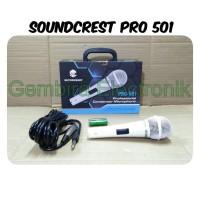 mic condensor soundcrest pro 501 microphone kabel sound crest pro401