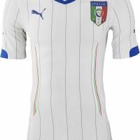 JERSEY BOLA GRADE ORI ITALIA AWAY WORLD CUP 2014 MADE IN THAILAND