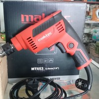 Maktec MT653 Mesin Bor Tangan Listrik Reversible Power Drill MT 653