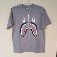 Kaos baju bape shark (not hoodie supreme off white bape) ua pk.