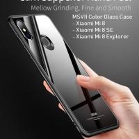 MSVII Xiaomi Mi 8 / Mi 8 SE / Mi 8 Explore - Color Tempered Glass Case