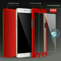 Case Xiaomi Redmi Note 5 Pro Full Case 360 Hardcase Depan Belakang TG