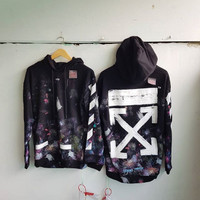 OFF WHITE Galaxy Hoodie Best Perfect Replica 1:1