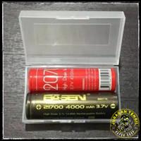Tempat Baterai 2 Slot 20700 21700 Box Battery Case Batere Kotak Casing