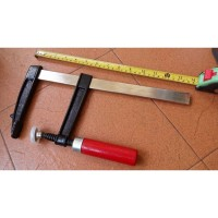 Woodworking tools clamp F 250mm . Catok kayu . Clamp F heavy duty