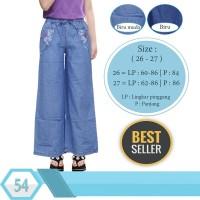 Celana Kulot Anak Jeans Panjang  usia 6 thn - 11 tahun  Best Seller