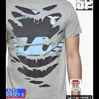 Kaos Cotton Lazio Away 3D