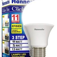 Lampu LED Hannochs DIM 3 Level Tingkat Cahaya Hemat Energy
