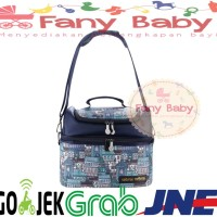 Natural Mom Cooler Bag Sling Tokyo Bag / Tas Asi Bayi
