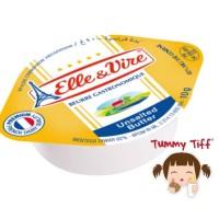 Elle & Vire Unsalted Butter 10x 10gr / elle vire unsalted butter 10gr
