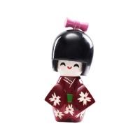 Hagihara Pajangan/Miniatur/Boneka Kayu Jepang Kokeshi Souvenir Merah