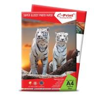 Kertas Foto e-Print Glossy Paper Alumunium Pack 200gsm