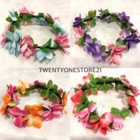 Mahkota bunga lingkar flower crown Terlaris