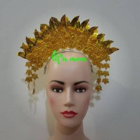 aksesoris mahkota sunting padang baju adat karnaval Terlaris